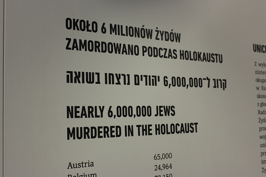 Block no. 27 in Auschwitz I: 6 milion Jews murdered