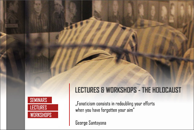 Lectures & Workshops: The Holocaust