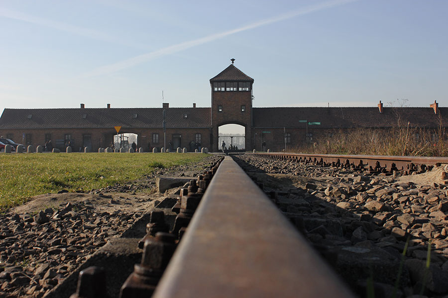 Auschwitz II-Birkenau - the main watch tower